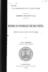 Methods of Controlling the Boll Weevil: Advice Based on the Work of 1902