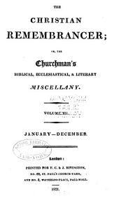 The Christian Remembrancer: Volume 3