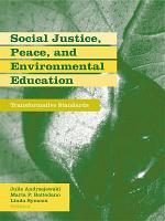Social Justice  Peace  and Environmental Education PDF