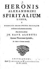 Spiritalium liber
