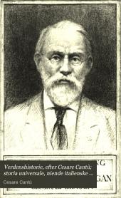 Verdenshistorie, efter Cesare Cantù: Olditiden