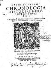 Chronologia historiae Herodoti et Thucydidis
