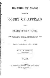 Reports of Cases Decided in the Court of Appeals of the State of New York: Volume 64