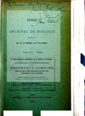 La race humaine de Néanderthal ou de Canstadt en Belgique: recherches ethnographiques sur des ossements humains découverts dans les dépôts quaternaires d'une grotte à Spy et détermination de leur âge géologique