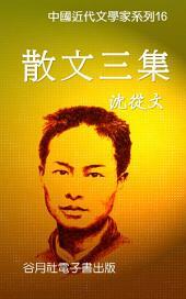沈從文-散文三集: 近代文學大師大賞