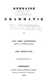 Hebraisk grammatik