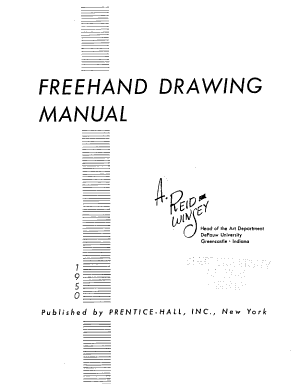 Freehand Drawing Manual