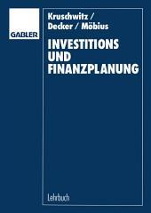 Investitions- und Finanzplanung: Arbeitsbuch mit Aufgaben und Lösungen