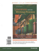 Literature and the Writing Process  Books a la Carte Plus Revel    Access Card Package PDF
