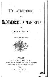 Aventures de mademoiselle Mariette
