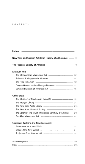 Spanish Art in New York PDF