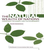 The Natural Wealth of Nations PDF