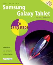 Samsung Galaxy Tablet in easy steps - for Tab 2 and Tab 3: Covers Android Jelly Bean