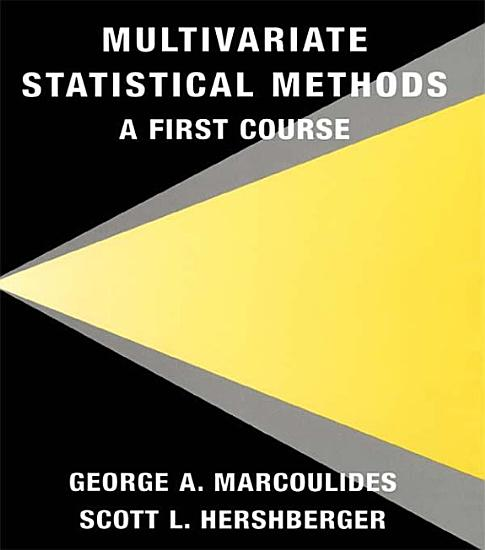 Multivariate Statistical Methods PDF