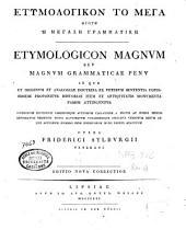 Etymologikon to mega ēgoun hē megalē grammatikē