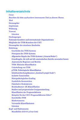 TNM Klassifikation maligner Tumoren PDF