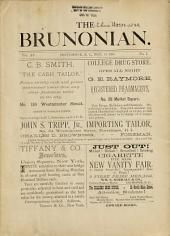 The Brunonian: Volume 15
