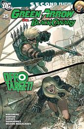 Green Arrow and Black Canary (2007-) #25