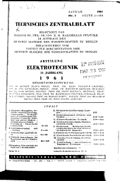 Technisches Zentralblatt PDF