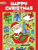 Happy Christmas Coloring Book PDF