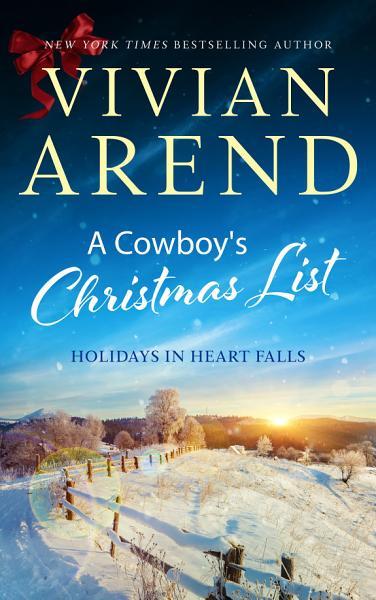 Download A Cowboy s Christmas List Book