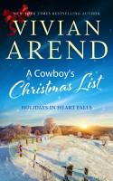 A Cowboy s Christmas List PDF