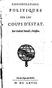 Considérations politiques sur les coups d'estat: Sur la copie de Rome