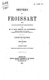 Chroniques de Froissart: 1386-1389