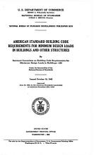 American Standard Building Code Requirements for Minimum Design Loads in Buildings and Other Structures PDF