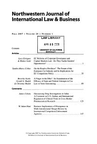 Northwestern Journal of International Law   Business PDF