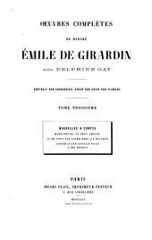 Oeuvres complètes: Nouvelles & contes, Volume3
