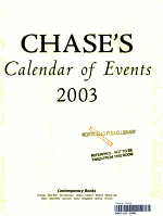 Chase's Calendar of Events 2003