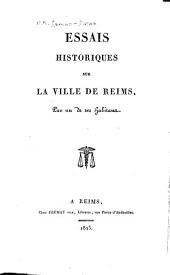 Essais historiques sur la ville de Reims