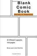 Blank Comic Book Book PDF