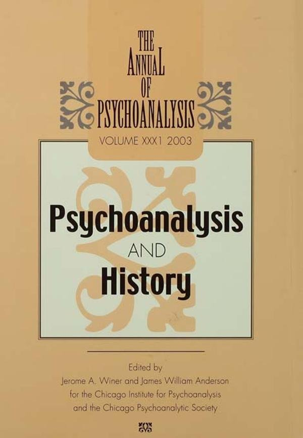 The Annual of Psychoanalysis, V. 31