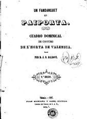 Un Fandanguet en Paiporta: cuadro dominical de costums de l'horta de Valensia