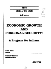 The     State of the State Address and the     Legislative Program PDF