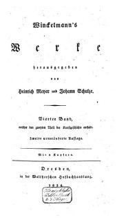 Winckelmann's Geschichte der Kunst des Alterthums: Band 4