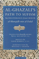Al Ghaz  l   s Path to Sufism and His Deliverance from Error