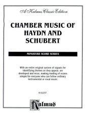 Chamber Music of Haydn and Schubert: String Ensemble - Mixed (Miniature Score)