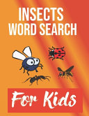 Insects Word Search for Kids PDF