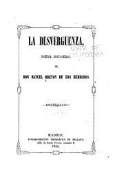 La desvergüenza: poema joco-serio de Don Manuel Bretón de los Herreros