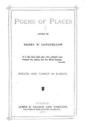 Poems of Places: Greece and Turkey in Europe
