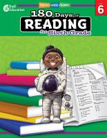 180 Days of Reading for Sixth Grade PDF