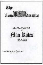 The Commandments The Official Guide Book To Man Rules Volume I Book PDF