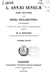 L. Annaei Senecae Pars secunda sive Opera declamatoria
