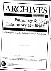 Archives of Pathology & Laboratory Medicine