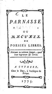Le Parnasse libertin, ou Recueil de poésies libres