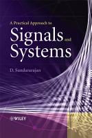 A Practical Approach to Signals and Systems PDF