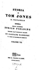 Storia di Tom Jones il trovatello; versione di Gaetano Barbieri: Volume 2;Volume 42